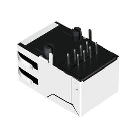LPJ6049CNL 1x1 Port 100 Base -T Magnetics POE RJ45 Connector